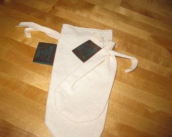Large Cloth Tea bag-Hemp and Organic Cotton