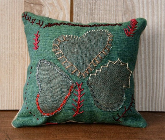 Mini Shamrock Pillow