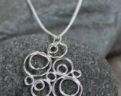Crazy Circles in Circles Necklace