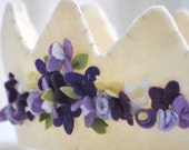 Whimsical Crown - Lilacs