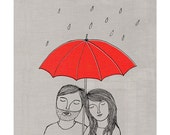 Together whatever the weather- Print