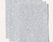 Handmade Paper - Blue Cotton - 5 sheets