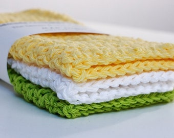 Dishcloths-Lemon and Lime Collection