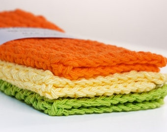 Dishcloths- CITRUS COLLECTION