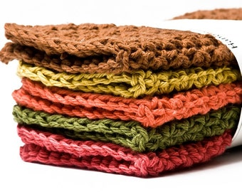 Dishcloths- Autumn Blend-Pick 3