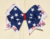 4th of July Boutique Double Layer Bow
