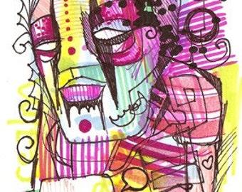 Bad Day Dream - Original Illustration