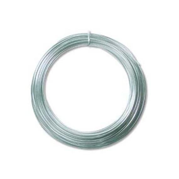 Aluminum Craft Wire Ice Blue 12 Gauge 39 Feet (11.8 Meters) - WCR-4116
