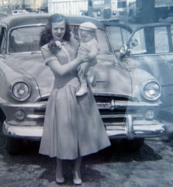 Vintage 1930s - 50s Photographs Women with Children