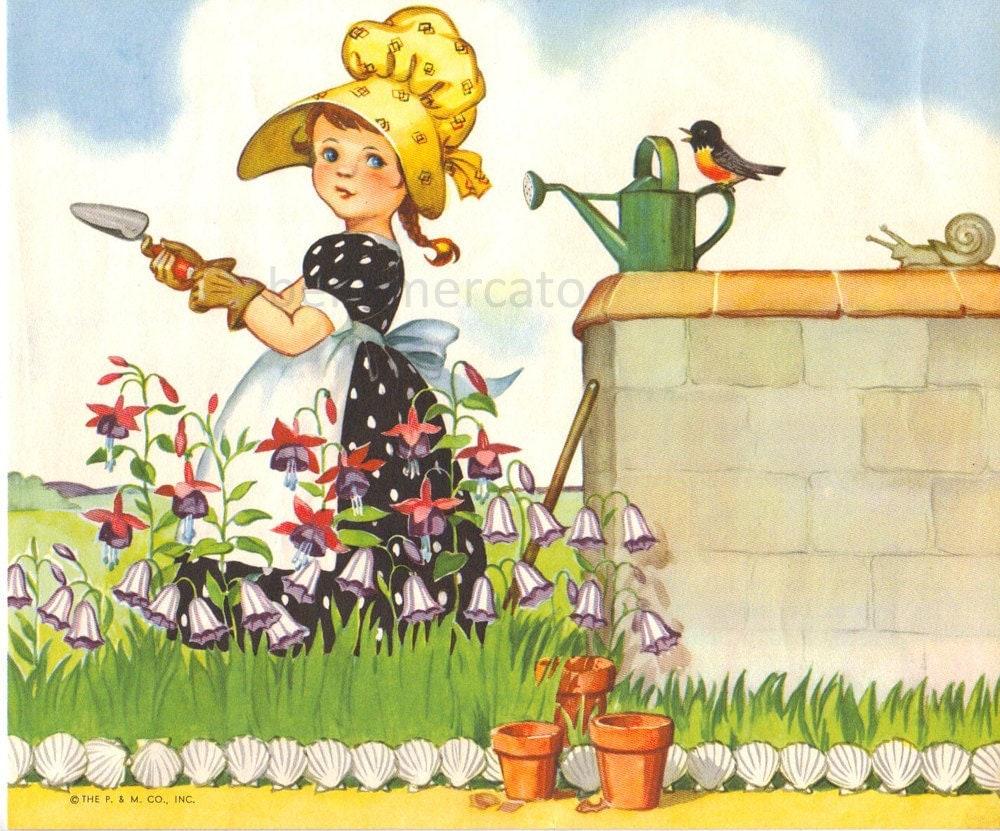 Картинки, садовник картинки нарисованные