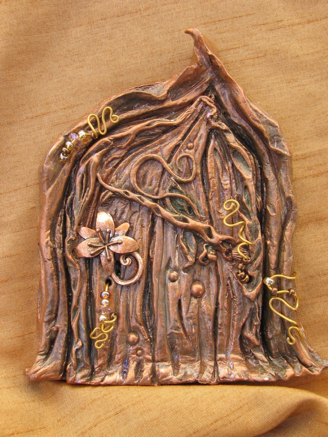 Faerie secrets woods door How to make a fairy door out of clay