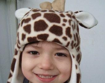 Giraffe Hat handmade animal hats