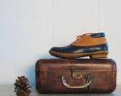 LL Bean Rain Boots / 70s Duck Boots / 8.5-9