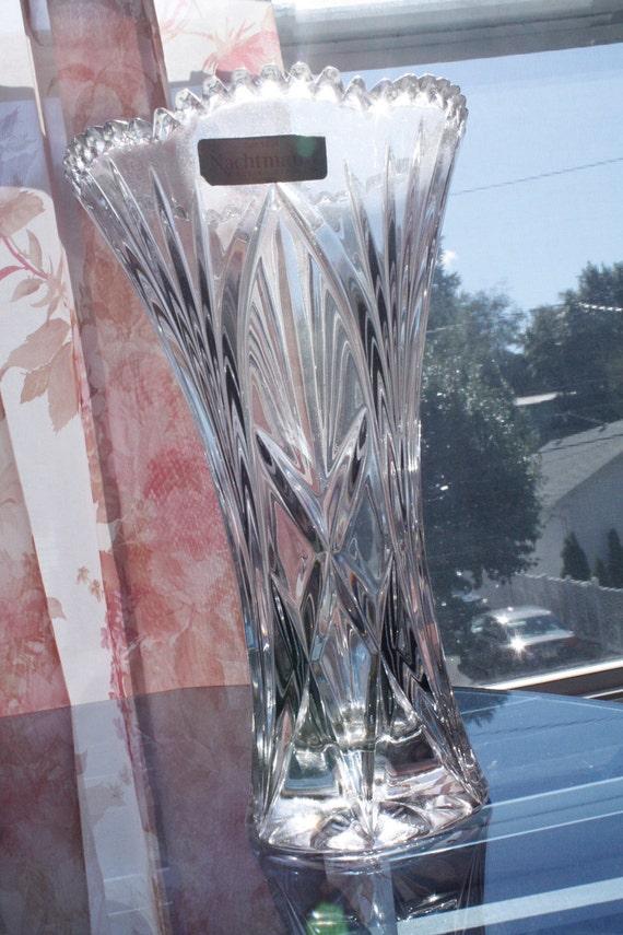 Nachtmann Bleikristall Vase Lead Crystal By Artsgardenroots