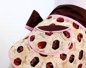 Apron Retro Chocolates Hostess Half Apron-XL