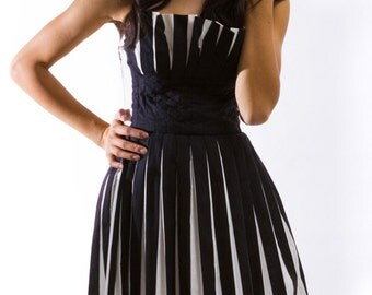 Avant-Mod Origami Dress ---DEEPLY DISCOUNTED---