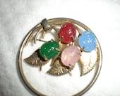 Vintage Scarab Pin