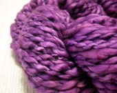 VIOLINA - handspun hand dyed cotton yarn 70 g/ 90 m