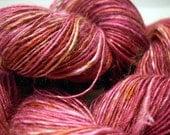 MUMBAI - handspun hand dyed bamboo yarn 100g/290 m