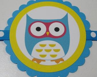 "SALE / CLEARANCE Mod Owl ""It's A Boy"" Banner"