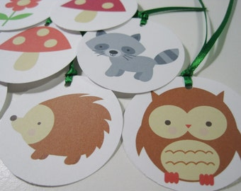 Forrest Friends Gift Tags