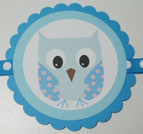 "SALE/CLEARANCE - Cutie Pahootie ""Happy Birthday"" Banner - blue"