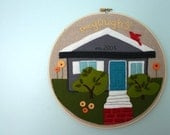 Custom Little City Hoop--Your Dream House