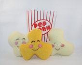 Plush Popcorn set (B) by Plush Goodness