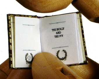 The Holly And The Ivy,  Microminiature Book Bo Press