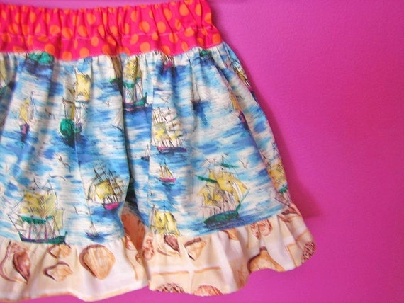 MisMatched Molly FunTime Spring Skirts Sz 4T........Opening Sale