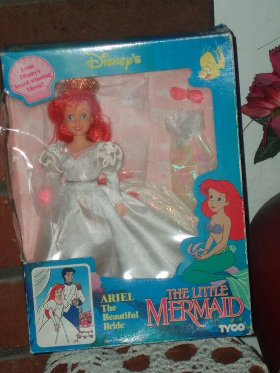 1992 Beautiful Bride Disney Princess Little Mermaid