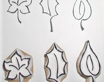 little leaf stamp set (3)