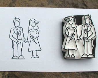 little couple stamp