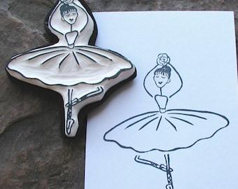 little ballerina stamp
