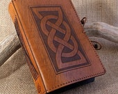 Standard - Celtic Friendship Knot Hand Bound Leather Journal