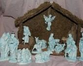 15 Piece Nativity with Manger set