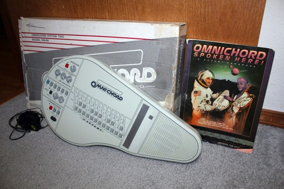 Suzuki Omnichord System Two OM-84 with Box and Instruction Book