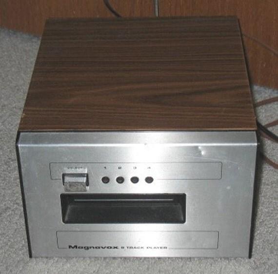Inside Of A 8 Track Tape: Magnavox Vintage 8 Track Tape Player