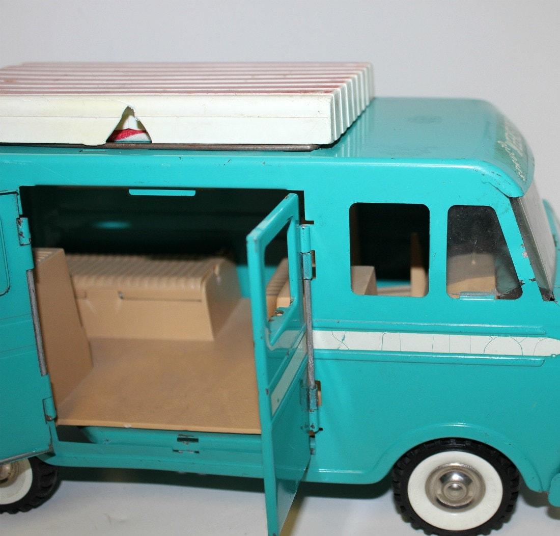 Structo Weekender Camper Van Vintage Toy 1960s