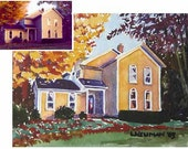 """Custom 4x6"""" Watercolor Painting from a Photograph - Children, Historical Buildings, Landmarks, Any Subject"""