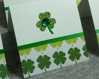 Shamrocks Mini Cards 2x2 (6)