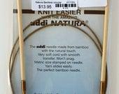 "Addi Natural Circular Needle U.S.6/4.0 mm, 40"" long - Buy 4 get 1 free"