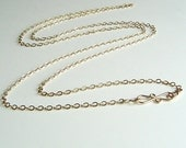 Long Gold Chain, Layering Chain, Gold Chain Necklace, 14K Gold fill, Choose 18 inch to 36 inch length, pendant chain, heavy chain, Gift