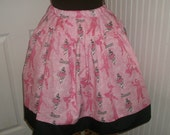 Pink Pirate of the Caribbean Twirl Skirt