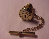 Bullet Tie Tack 45 Auto Recycled Repurposed