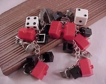 CLOSEOUT Nascar Monopoly Game Piece Bracelet