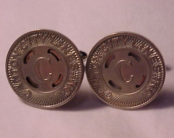 SALE Cuff Links Transit Token Canton City Lines - Free Shipping to USA