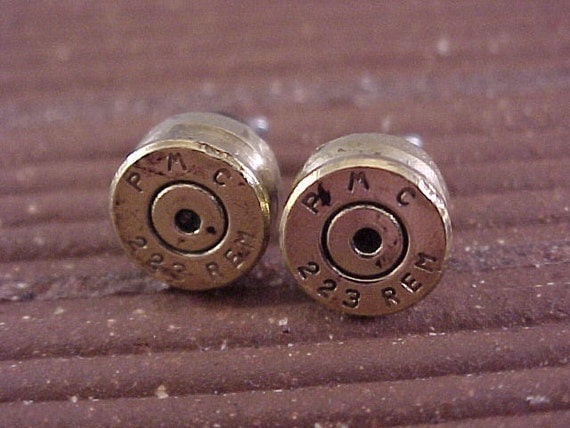 223 Rifle Bullet Earrings - Free Shipping to USA