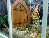 Hand-Crafted Fairy - Gnome Door - Medium