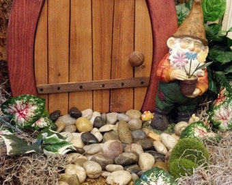 Hand-Crafted Fairy / Gnome Door - Closed